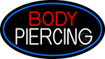 Body Piercing Neon Sign