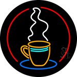 Coffee Cup LED Neon Sign