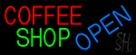 Coffee Shop Open LED Neon Sign