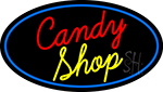 Cursive Candy Shop LED Neon Sign