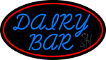 Dairy Bar With Logo LED Neon Sign