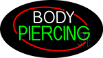 Deco Style Body Piercing Neon Sign