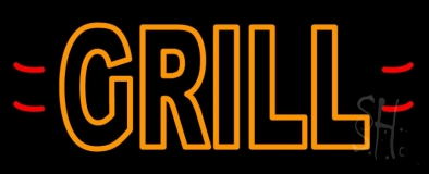 Grill LED Neon Sign