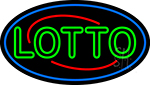 Double Stroke Lotto LED Neon Sign