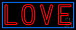 Double Stroke Love LED Neon Sign