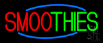 Double Stroke Smoothies LED Neon Sign