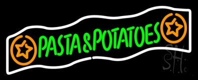 Pasta And Potatoes LED Neon Sign