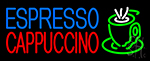Espresso Cappuccino Cup LED Neon Sign