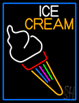 Fancy Ice Cream Cone LED Neon Sign