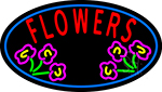 Flowers Open LED Neon Sign