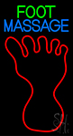 Foot Massage LED Neon Sign