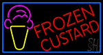 Frozen Custard LED Neon Sign