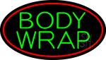 Green Body Wraps LED Neon Sign