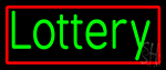 Green Lottery LED Neon Sign