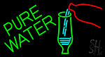 Green Pure Water LED Neon Sign