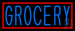 Grocery LED Neon Sign
