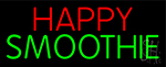 Happy Smoothie LED Neon Sign