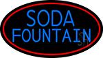 Horizontal Double Stroke Soda Fountain LED Neon Sign