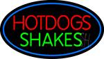 Hotdogs Shakes LED Neon Sign
