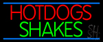 Hotdogs Shakes LED Neon Sign