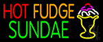 Hot Fudge Sundae LED Neon Sign