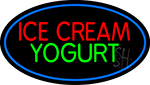 Ice Cream N Yogurt LED Neon Sign