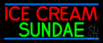 Ice Cream Sundae LED Neon Sign
