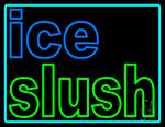 Ice Slush Logo LED Neon Sign