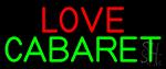 Love Cabaret LED Neon Sign