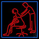 Male Female Massage Logo LED Neon Sign