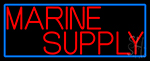 Marine Supply Neon Sign