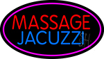 Massage And Jacuzzi LED Neon Sign