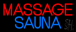 Massage Sauna LED Neon Sign