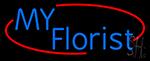My Florist Neon Sign