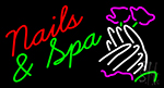 Nails And Spa LED Neon Sign