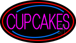 Pink Cupcakes LED Neon Sign