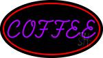 Purple Coffee LED Neon Sign