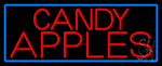 Red Candy Apples LED Neon Sign