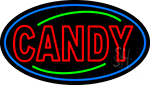 Red Candy LED Neon Sign