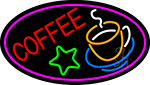 Red Coffee Logo LED Neon Sign