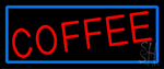 Red Coffee LED Neon Sign