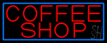 Red Coffee Shop LED Neon Sign