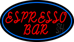 Red Espresso Bar LED Neon Sign