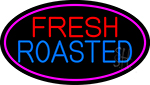 Red Fresh Roasted Coffee Cup LED Neon Sign