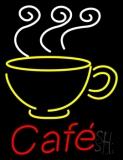 Cafe With Coffee Mug LED Neon Sign