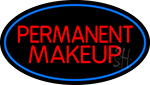 Red Permanent Makeup LED Neon Sign