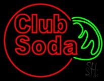 Club Soda LED Neon Sign