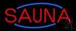 Red Sauna Neon Sign