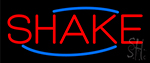 Red Shakes LED Neon Sign