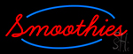 Red Smoothies LED Neon Sign